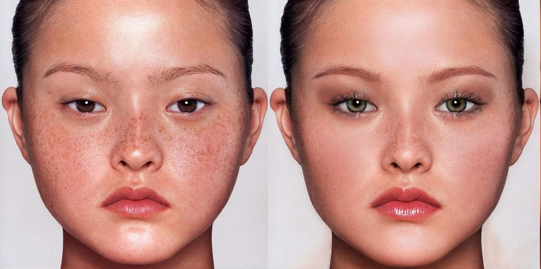 Как в фотошопе сделать овал лица