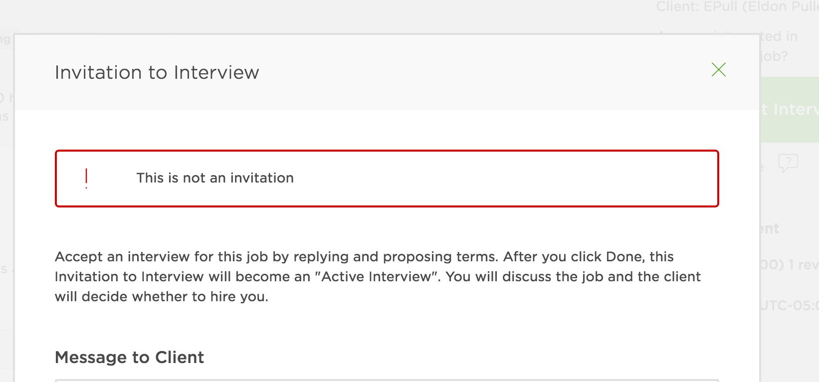 Todays bug with accepting invitations page 3 upwork community stopboris