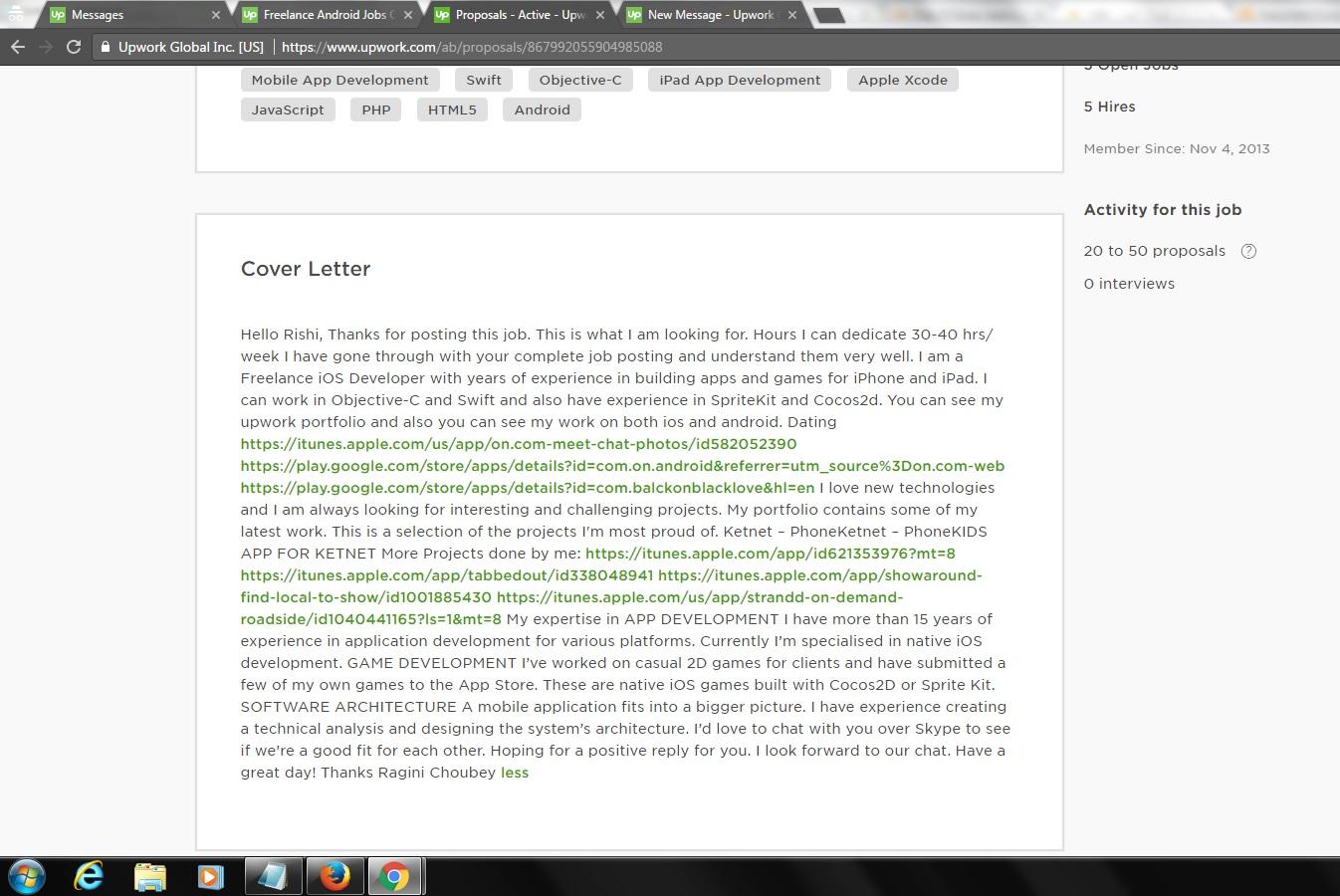 solved cover letter formatting issue upwork community