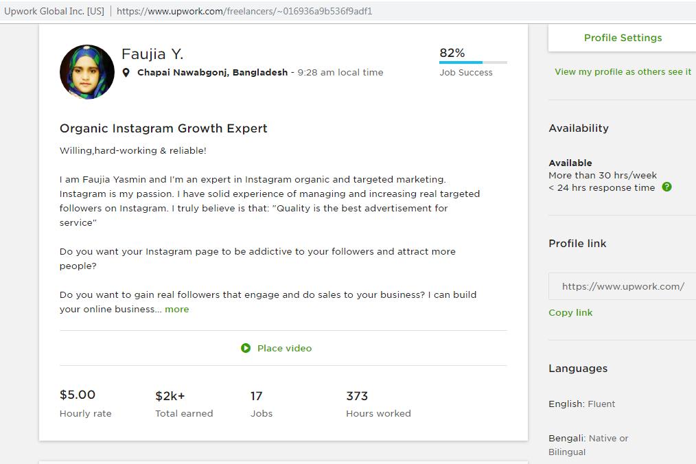 Suddenly My Profile JSS Score Drop 82% from t    - Upwork