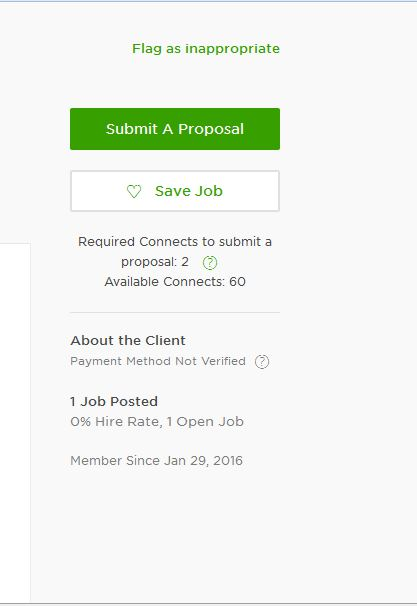 Solved Submit A Proposal Upwork Community