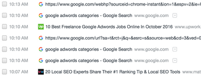 For Upwork - my 1010 searches.png