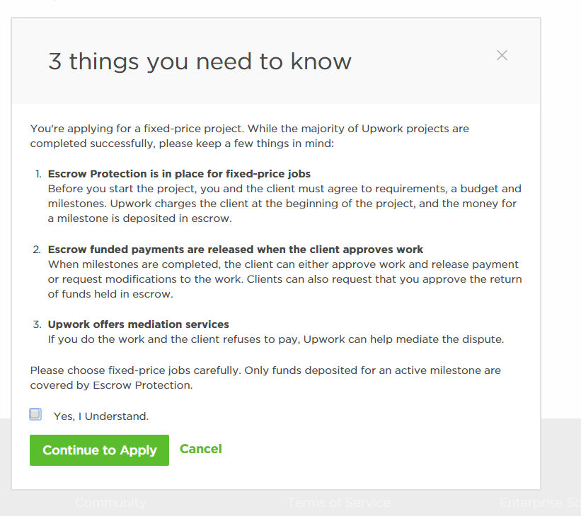 Solved new escrow rules upwork community am i reading this wrong altavistaventures Gallery