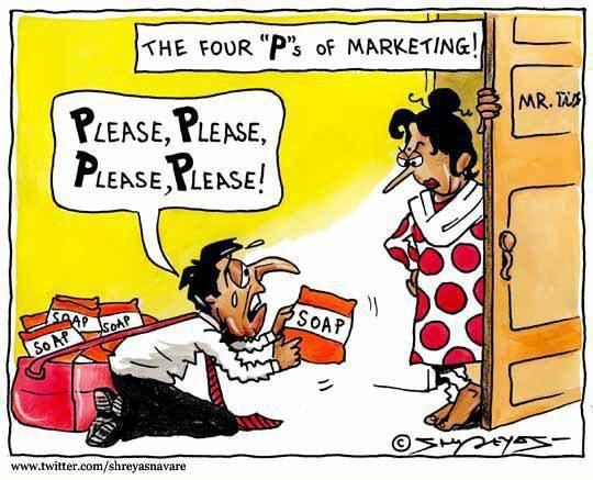 The Four P Of Markeketing